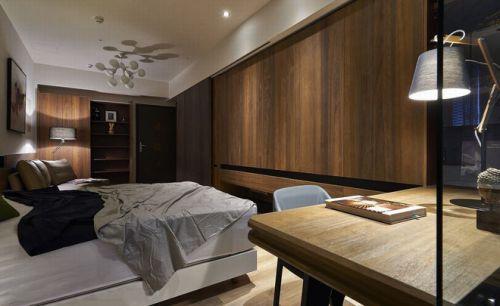 质朴素雅清新简约风格卧室效果图设计