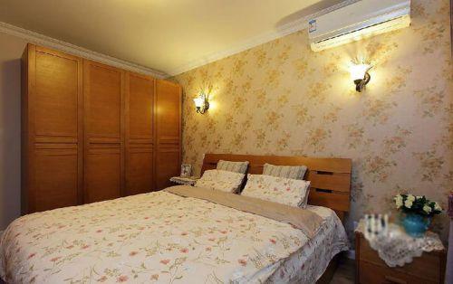 温馨淡雅卧室装潢装修布置