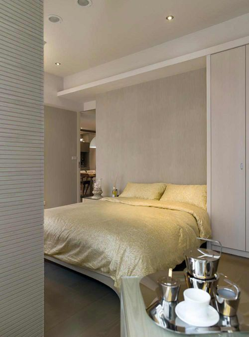 唯美温馨简约风格卧室装潢布置