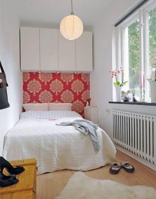 简约小面积卧室效果图