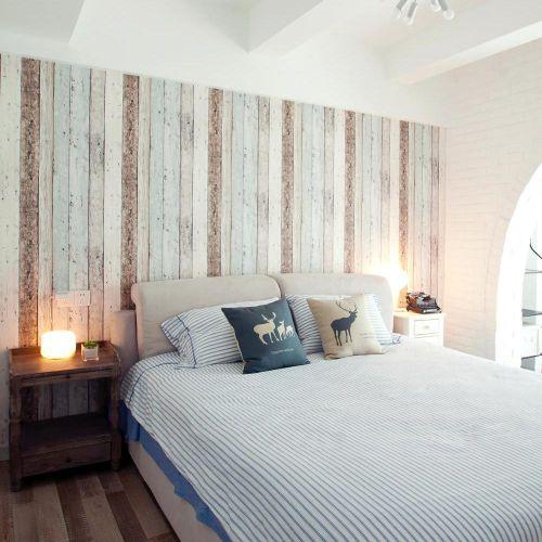 清新大方简约风格卧室舒适设计