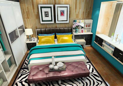 时尚简约风格卧室设计图片