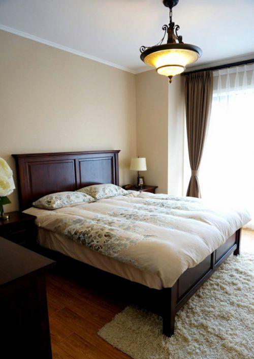 简约风格素雅白色卧室装饰设计图片