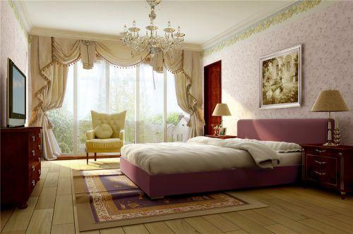 2016欧式田园风格卧室装饰案例