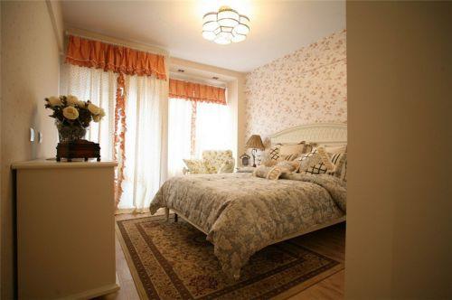 温馨田园风格卧室设计欣赏