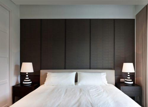 黑色极致简约纯粹卧室装潢
