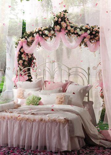 唯美田园卧室设计