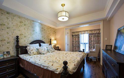 2016田园风格温馨米色卧室设计装潢