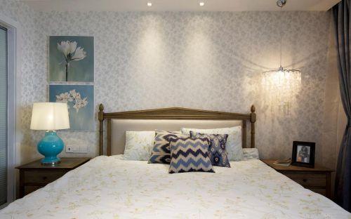 田园浪漫白色唯美卧室装修布置