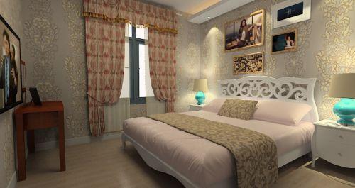 温馨风格田园卧室装修美图