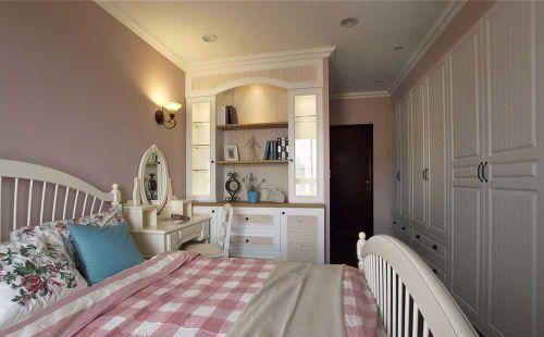 温馨大方粉色简欧卧室设计