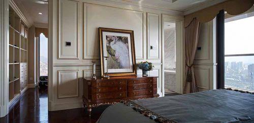 雅致简欧风格卧室效果图