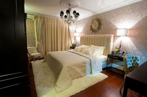 温馨简欧风格卧室装修设计