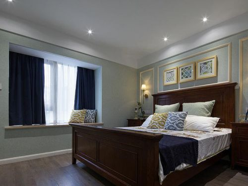 2016简欧古典装修卧室设计图片
