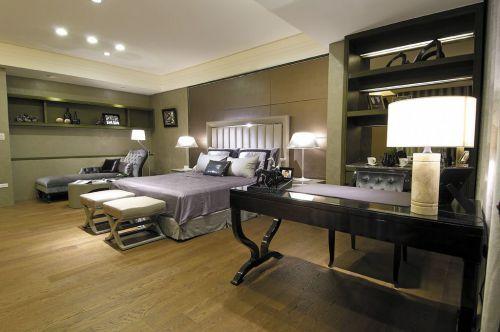 优雅精致时尚灰色简欧风格卧室赏析