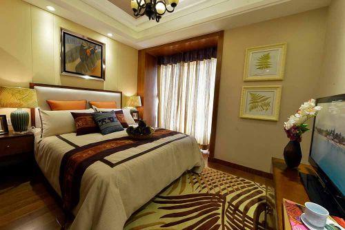 温馨大气简欧风格卧室设计图片