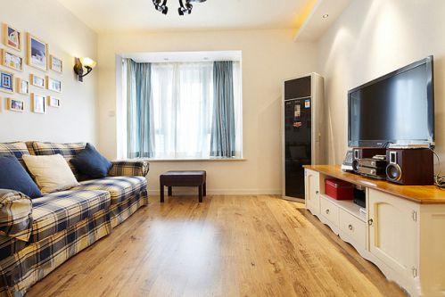 地中海两居室客厅设计图片