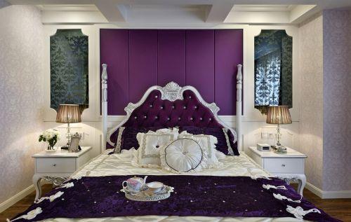 地中海混搭风卧室背景墙设计