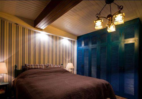 城堡地中海复式卧室设计