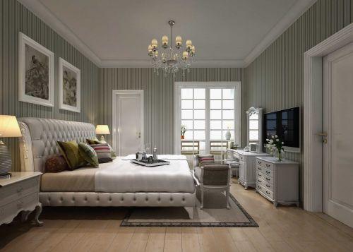 地中海风格清爽卧室设计