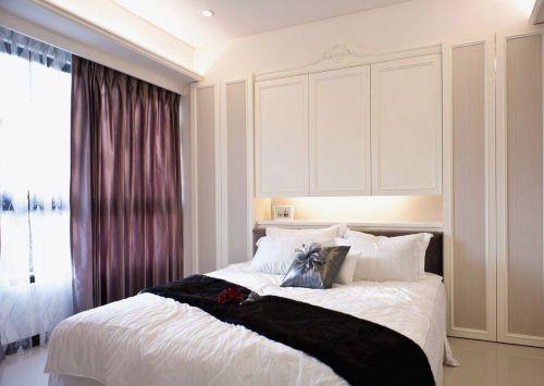 欧式卧室窗帘收纳柜图片设计