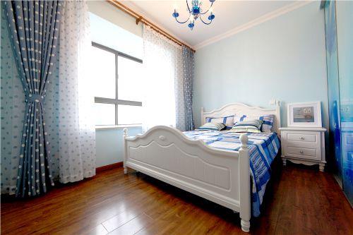 舒适地中海风格设计卧室图