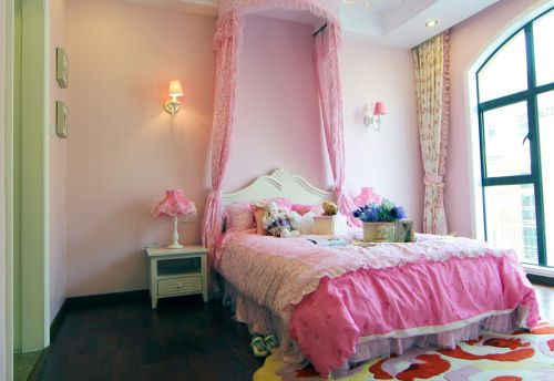 温馨地中海风格公主房装修设计