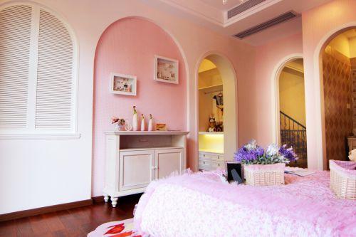 温馨地中海风格卧室拱门设计