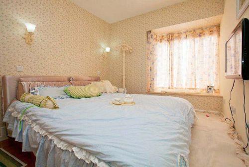 地中海风格装修卧室效果图欣赏