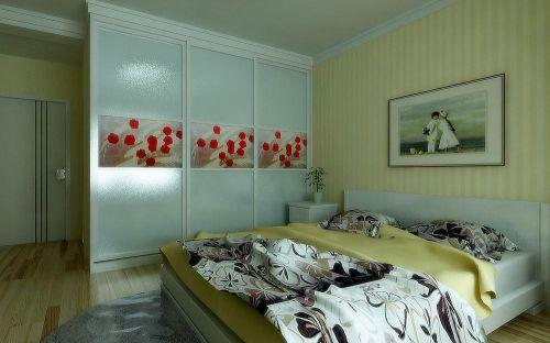 万达广场地中海风格卧室设计