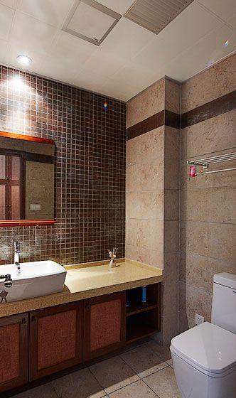 东南亚设计风格卫生间图片