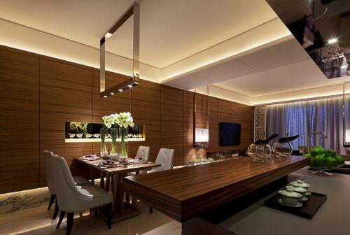 北京华贸城中式风格餐厅图片