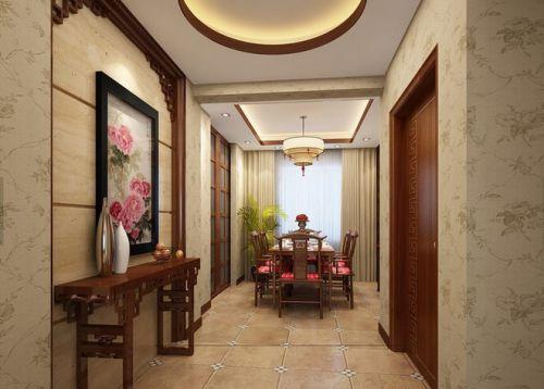 中式家居餐厅设计效果图片