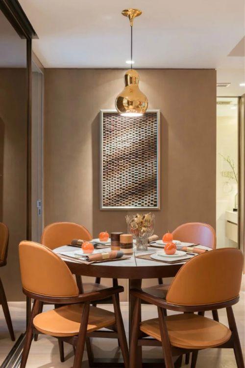 餐厅照片墙美式风格装修