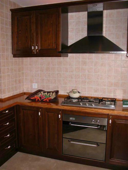 东南亚厨房整体橱柜效果图