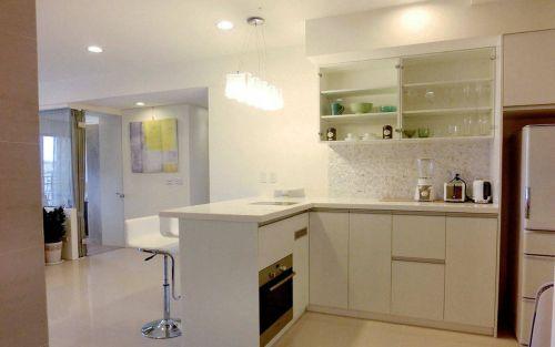 混搭四居厨房吧台装修风格欣赏
