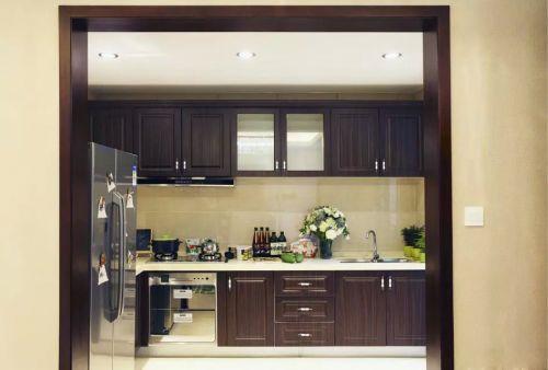 厨房整体橱柜装修效果图