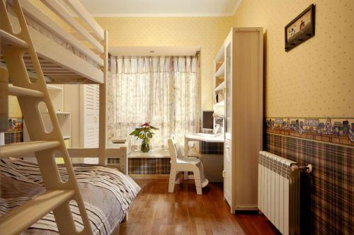 舒适田园风格三居室儿童房装修设计