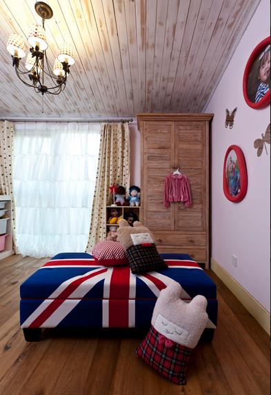望京西府混搭设计儿童房图片