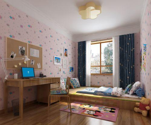 日式榻榻米儿童房效果图片