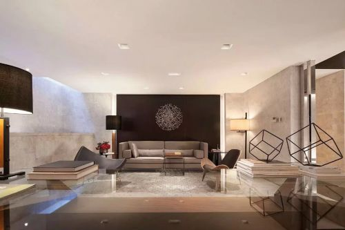 中式书房沙发背景墙装修效果图全套