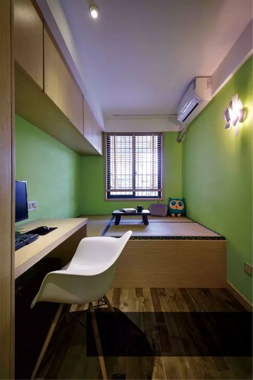 书房背景墙室内设计图片