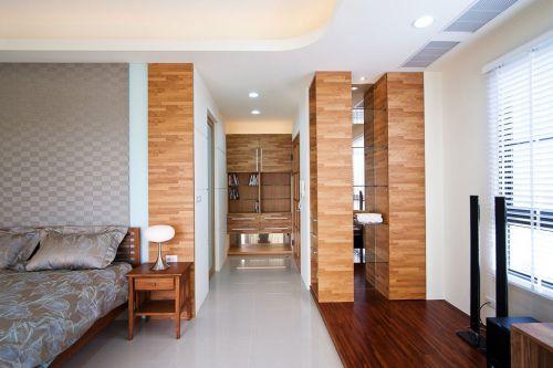 木质混搭家居衣帽间效果图片