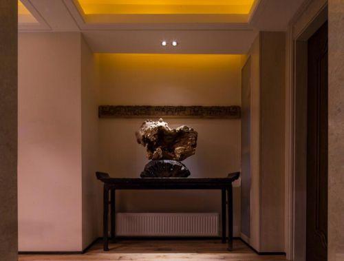 126平中式风格家装设计玄关图片