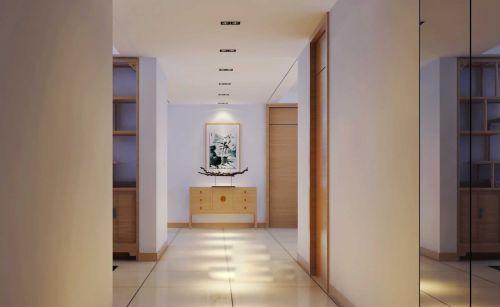 101平米现代中式风格玄关装修设计