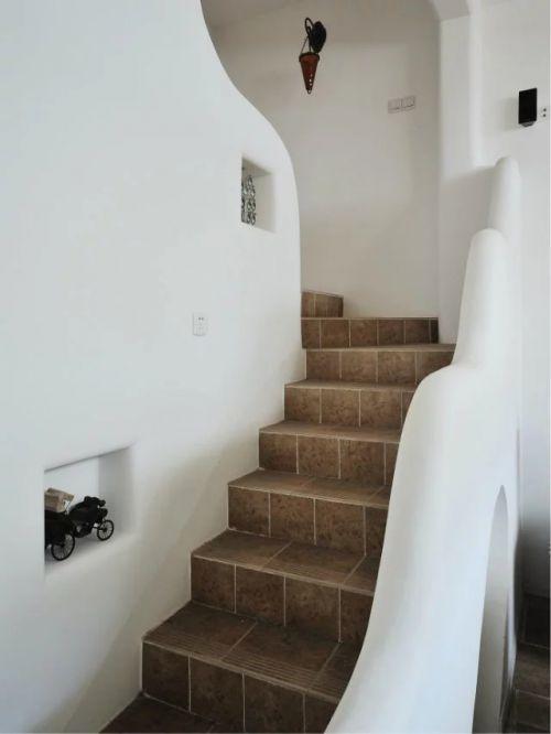 混搭风格楼梯装修图片欣赏