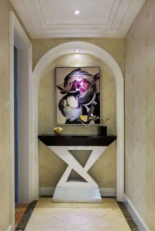混搭装修玄关过道照片墙设计欣赏