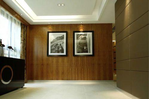 玄关照片墙装修图片