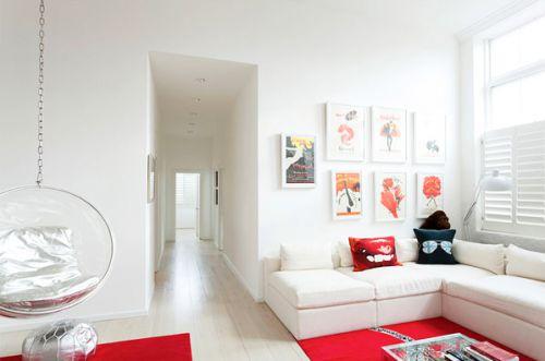 现代设计玄关进门过道图片