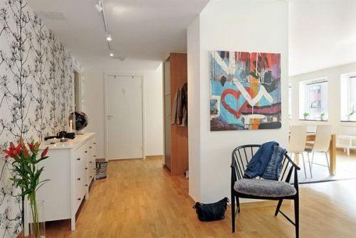 欧式公寓玄关过道图片